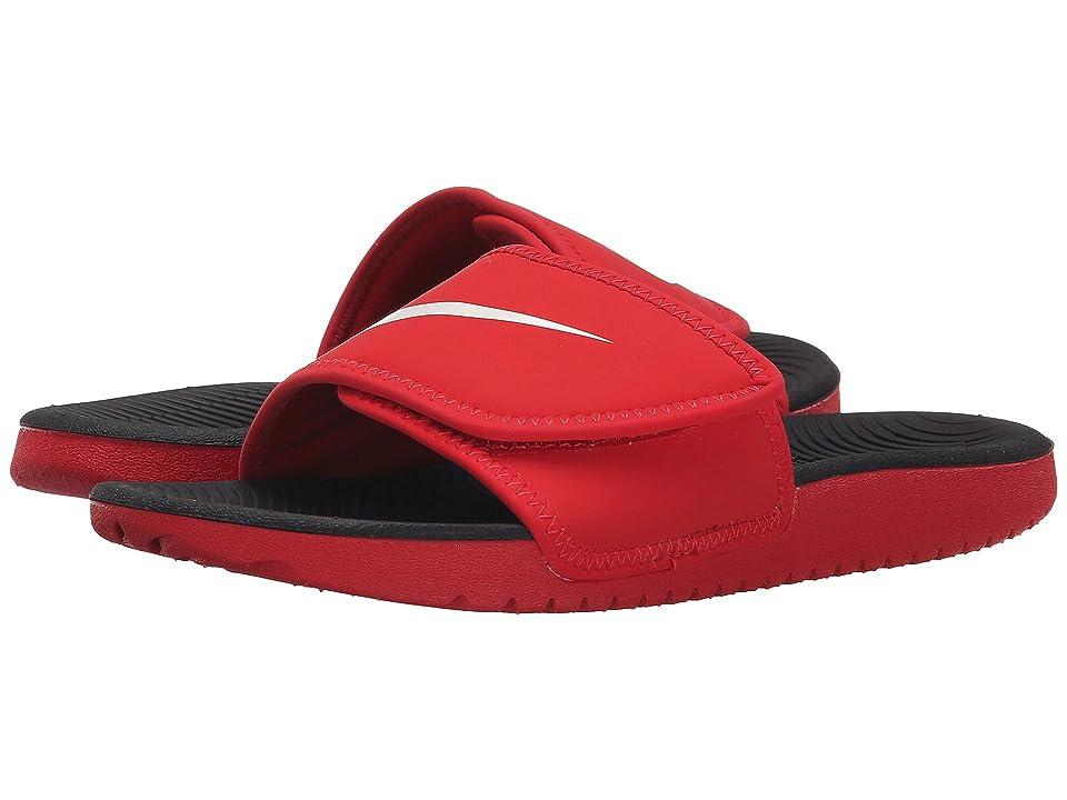 Nike Kids Kawa Adjust (Little Kid/Big Kid) (University Red/White/Black) Boys Shoes