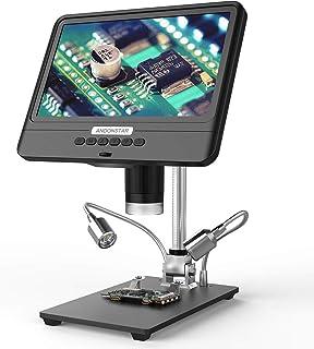 Tooarts AD208S 8.5 Inch LCD Display Screen 5X-1200X Digital Microscope 1280 * 800 Adjustable 1080P Scope Soldering Tool wi...