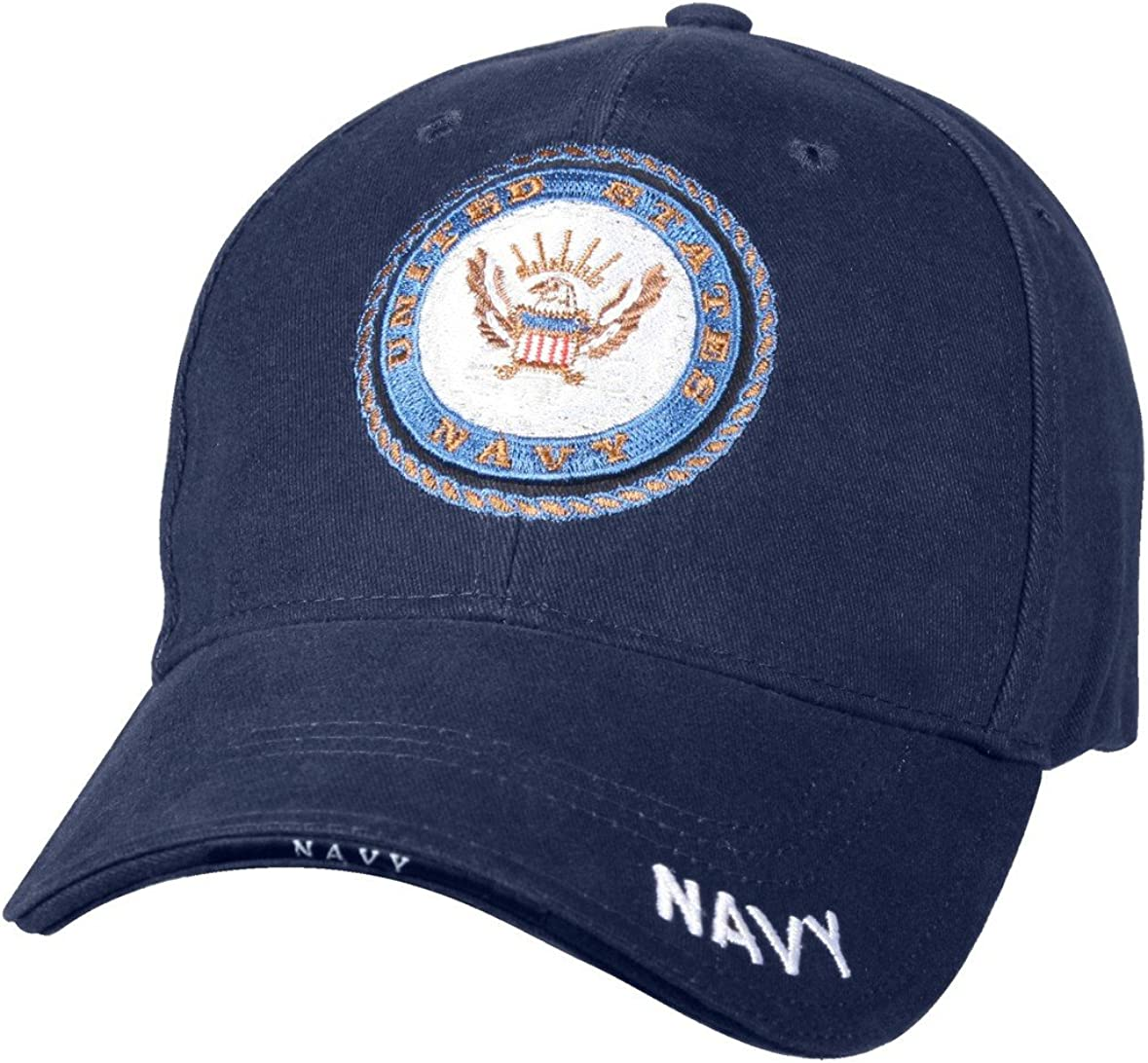 Deluxe Cheap mail order shopping Low Profile Cap Blue Emblem Logo trend rank Navy -