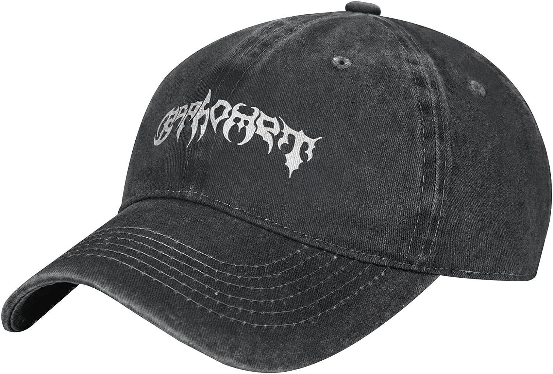 Baseball Cap Washed Plain Baseball Cap Summer Outdoor Retro Adjustable Denim Hat Sun Hats for Men 55-59cm