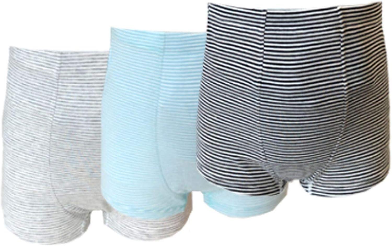 Vanilla Blush Junior Boys Ostomy Underwear 3 Pack (Black, Grey, Green)