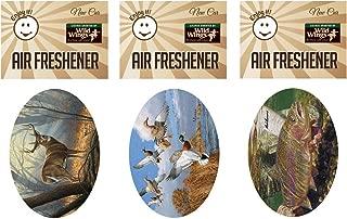 Enjoy It Wild Wings Hunting Air Freshener 3-Pack (Whitetail Deer, Mallard Ducks, Rainbow Trout)