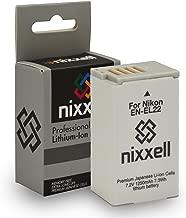 Nixxell Battery for Nikon EN-EL22, Nikon MH-29, Nikon 1 J4, Nikon 1 S2 (Fully Decoded)