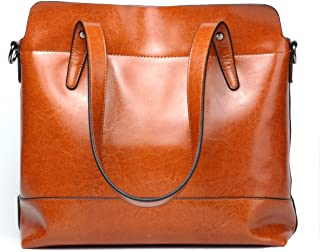 Best leather tote with shoulder strap Reviews