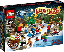 LEGO City Town Advent Calendar Stacking Toy 60063(Discontinued by manufacturer)