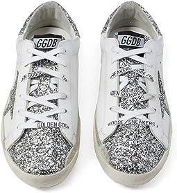 Superstar Glitter Star and  Heel Sneaker