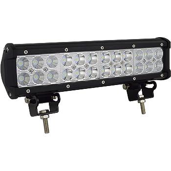 """Paire LED Light Bar 8/"""" 60W 6000LM COB LED Barre Anti Brouillard Ampoule de Travail Led Barre 4x4 LED Lentille Phare Off-Road 4 Roues Motrices SUV Moto Projecteur Led Exterieur Garage Lampe Jardin IP65"""