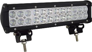 AUXTINGS LED Arbeitsleuchte, 30,5cm Lichtleiste, 72W, Nebelscheinwerfer, Flutlicht und Strahler, für Geländewagen, LKW, SUV, Allradantrieb