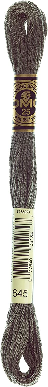 half DMC 117-645 supreme Six Stranded Cotton Very Embroidery Beav Dark Floss