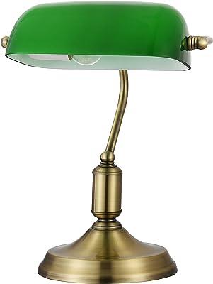 Lucide 17504/01/03 - Lámpara de escritorio tipo banquero ...