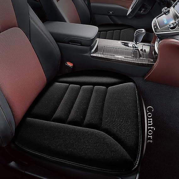kingphenix Car Seat Cushion with 1.2inch Comfort Memory Foam