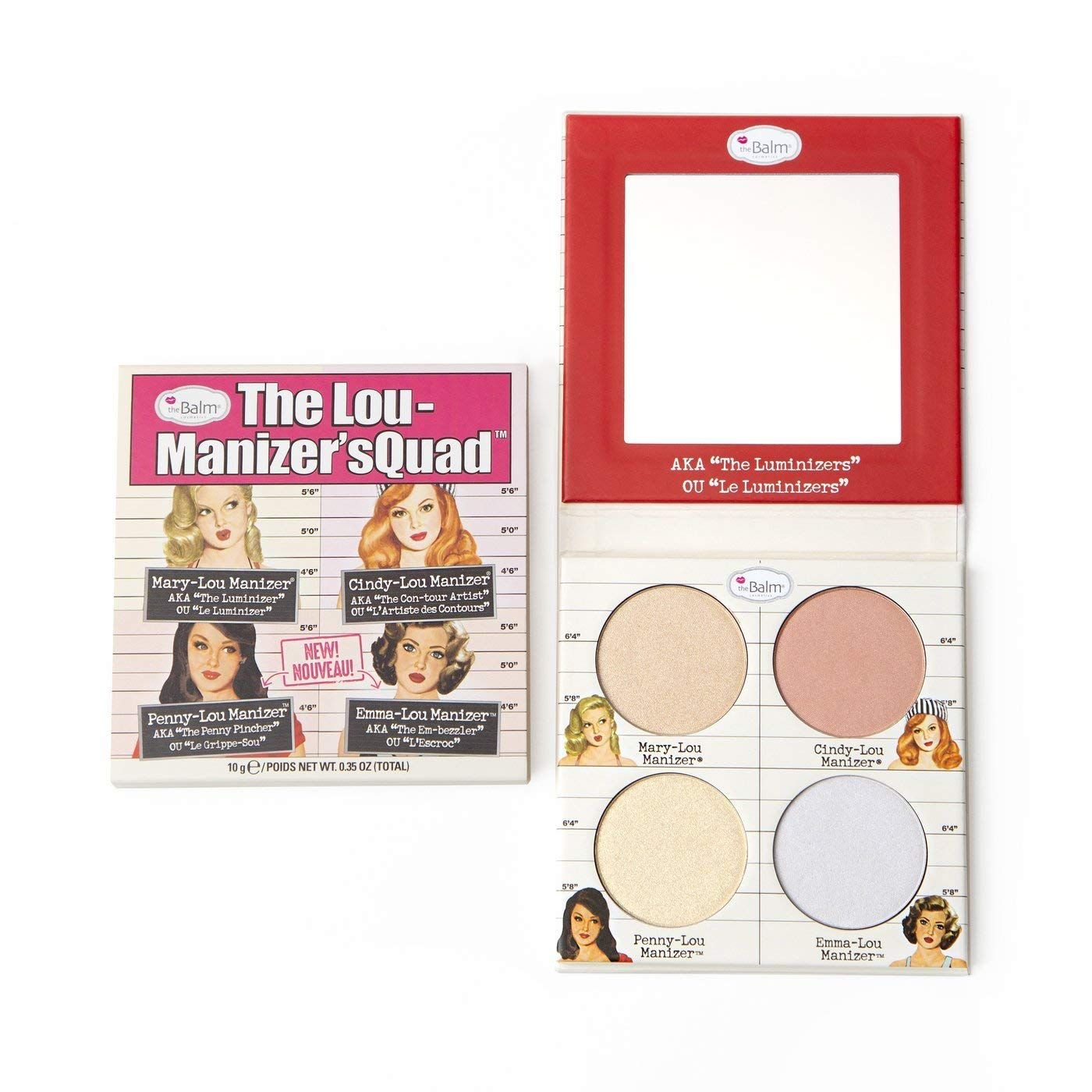 theBalm Lou-Manizers Max 66% OFF Quad Makeup Exclusive Max 89% OFF Highlighter Palette