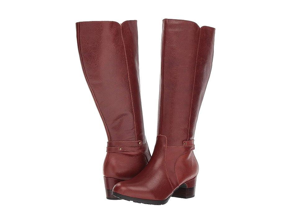 Jambu Chai - Wide Calf (Whisky) Women's Boots