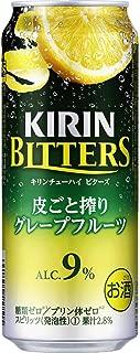 キリンチューハイ ビターズ 皮ごと搾りグレープフルーツ 500ml