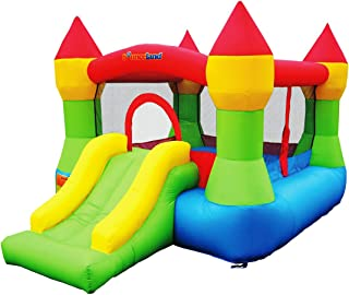 Bounceland Bounce House Castle W/Hoop Inflatable Bouncer