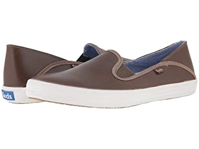 Keds Crashback Leather (Fog Gray) Women