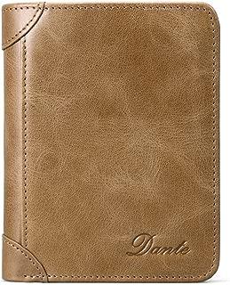 Dante Men's Bifold Vintage Top Grain Leather Slim Wallet