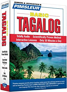 Pimsleur Tagalog Basic Course - Level 1 Lessons 1-10 CD: Learn to Speak and Understand Tagalog with Pimsleur Language Programs (1)