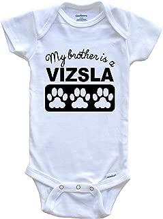 My Brother is A Vizsla Baby Onesie