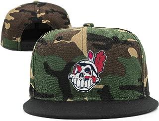 Cleveland_Skull_Indians_Baseball Snapback Ball Cap Plain Cotton Caps One Size Unisex Hats