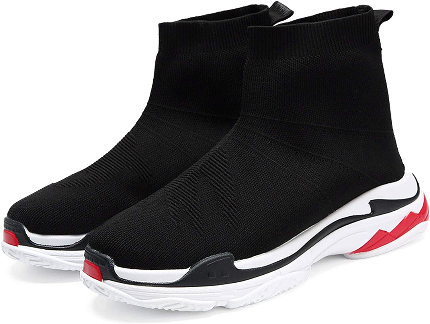 Spring and Summer Sports shoes Non-Slip shoes Men's shoes Deodorant Women's shoes Socks Sports shoes @ Y.T,Black,7