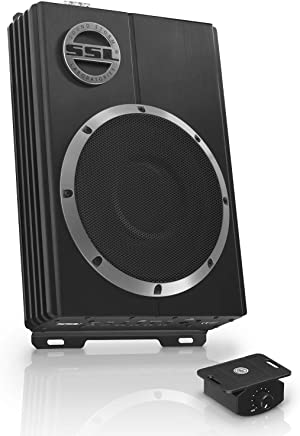 $121 Get Sound Storm Labs LOPRO10 Amplified Car Subwoofer  1200 Watts Max Power  Low Profile  10 Inch Subwoofer  Remote Subwoofer Control  Great For Vehicles That Need Bass But Have Limited Space