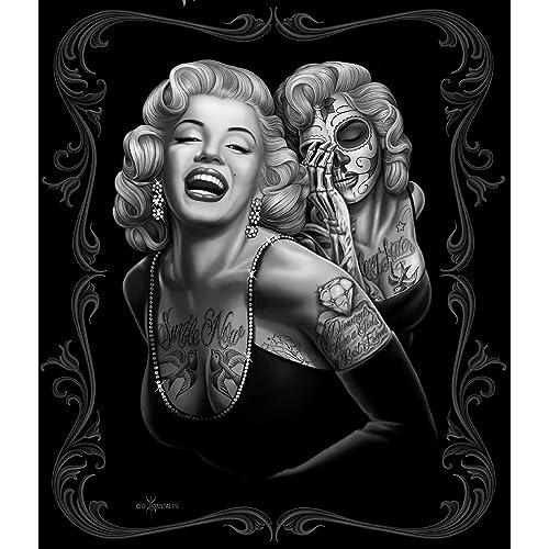 JPI Marilyn Monroe Fleece Blanket - Marilyn Monroe Smile Now - 50 x 60