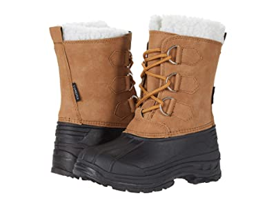 Tundra Boots Kids Snow Bird (Little Kid/Big Kid) (Tan) Kids Shoes