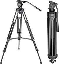 Neewer Professional 61 inches/155 Centimeters Aluminum Alloy Video Camera Tripod with 360..