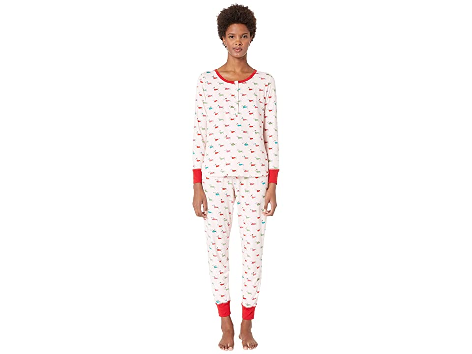 Kate Spade New York Printed Jogger Pajama Set (Dashhounds) Women