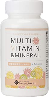 マルチビタミン&ミネラル メガビタミン120錠30日分