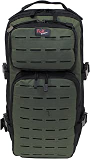 Fox Outdoor Assault-Travel Mochila Negro/OD Verde