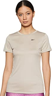 Reebok Women's Slim fit Sports T-Shirt