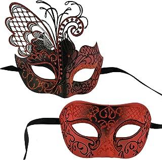 devil mardi gras mask