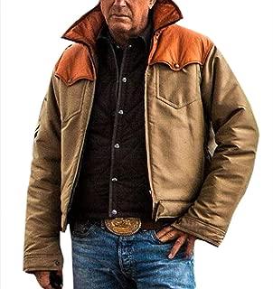 Mens Biker Cowboy Vest Jacket Costume
