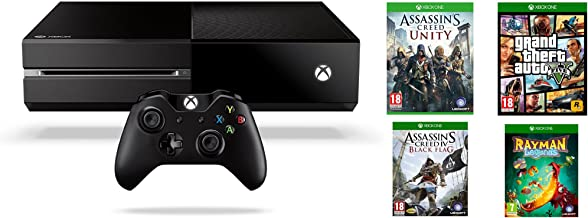 Xbox One - Consola Sin Kinect + GTA V + Assassins Creed: Unity + ...