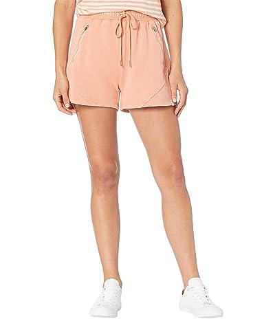 Blank NYC Acid Wash Garment Dyed Pull-On Shorts