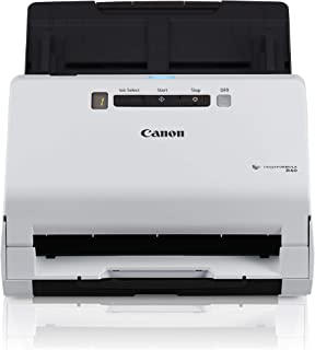 Canon imageFORMULA R40 Office Document Scanner For PC and Mac, Color Duplex Scanning, Easy Setup For Office Or Home Use, Includes Scanning Software