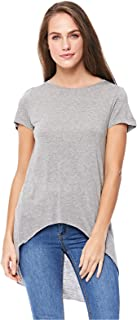Stradivarius Asymmetrical Tops For Women, GREY S