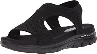 Skechers Women's Flex Appeal 2.0-Deja Vu Sport Sandal