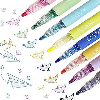 pluma de contorno, Los bolígrafos de contorno,boligrafps doble linea,marcador permanente para pintar,rotuladores de doble ...