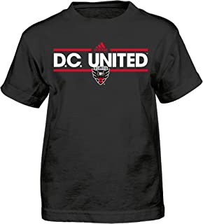 MLS by Outerstuff Dassler Short Sleeve Tee, Black, Youth Boys X-Large(18), D.C. United