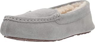 Amazon Essentials Womens Leather Moccasin Slipper