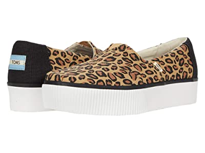 TOMS Alpargata Boardwalk (Leopard) Women