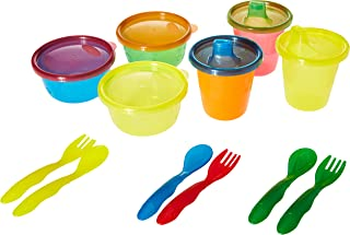 The First Years Take and Toss 12-Piece Feeding Variety Pack, Set of 1