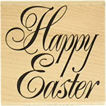 "Stamps by Impression ST 1161 Happy Easter Rubber Stamp, 2.5"" x 2.5"""