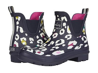 Joules Wellibob Chelsea Boot (Navy Leopard) Women