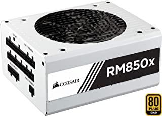 Corsair RM850x - Fuente de Alimentación (completamente modular, 80 plus gold, 850 watt, EU) Color Blanco