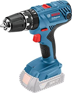 Bosch Professional 06019H1176 18V System GSB 18V-21 Cordless Combi Drill (max. Torque of 55Nm, excluding Rechargeable Bat...