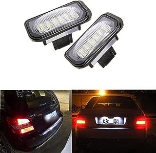 W211 W219 R171 Lampada targa a LED da 2 pezzi adatta per Mercedes Benz W203 5D